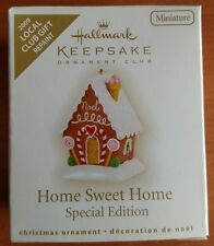 "Hallmark ""Home Sweet Home"" Miniature Ornament 2009 * Repaint"