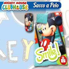 Sac de couchage Topolino mickey souris pour enfant 100% polyester