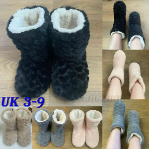 Ladies Thermal Size Ankle Boots Memory Fur Women family Slippers Warm Foam Shoes