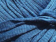 Anny Blatt Colombia #881 Blue 100% Cotton Ribbon Yarn 50Gr 60Yds