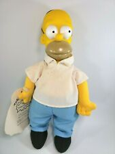 1990 Burger King Homer Simpson Collectible Doll Meet the Simpsons Toy