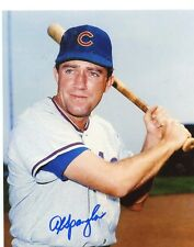 AL  SPANGLER      CHICAGO  CUBS    SIGNED AUTOGRAPHED   8X10 PHOTO  W/ COA