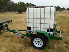 1000lt ibc water tank trailer fire unit