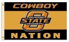 Oklahoma State Cowboys Flag Banner, Orange 3' X 5' Sturdy Nylon, Free Shipping