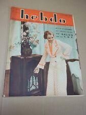 """REVUE """"HEBDO - no 74"""" 11e SALON DE LA T. S. F. (1934) J. BLONDELL / W. BEERY..."""
