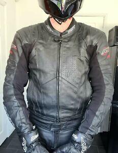 RST blade 2 black leather jacket UK40 EU50