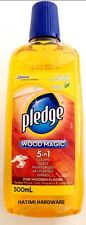 PLEDGE WOOD MAGIC 5 IN 1 WOODEN FLOOR CLEANER POLISH 500mL CONCENTRATED