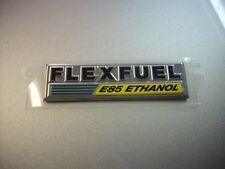 """Dodge Chrysler Flexfuel Emblem E85 Ethanol Rear Liftgate Trunk OEM 3 1/2""""x 15/16"""