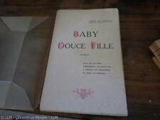 1919.Baby douce fille (curiosa).édition originale.Mac Orlan.Malteste