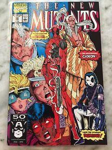 New mutants 98 high grade 1991