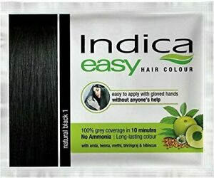 Indica Easy Hair Color ( Natural Black 1)