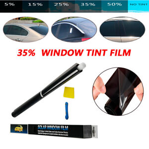 Car Solar PET Ceramic/UV Proof Solar Tint Film VLT 35% RV Auto Window