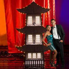 Shanghai Moon Pagoda Standee  Asian Theme pagoda Made of cardboard