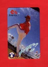 1994 TELECA KOREAN #23 HAN YONG-DEOK HANWHA EAGLES NRMT