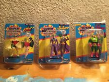 Gentle Giant DC Super Powers Micro 3 Figures + Walgreens Exclusive Lex Luthor