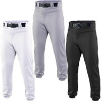 Easton Deluxe Youth Baseball Pant - White, Grey & Black A164 002
