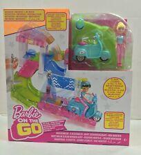 Mattel Barbie On The Go Poststation Set Giochi Mini Bambole Giocattolo