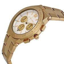Relojes de pulsera con fecha de acero inoxidable dorado de acero inoxidable