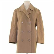 Aquascutum Coats Jackets Brown Woman Authentic Used T4765