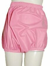Pink Rubber Waterproof Pants Knickers High Sides Adult Baby Sissy Roleplay XXL