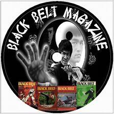 133 Black Belt Magazine Issues CD DVD Bruce Lee Martial Arts Vintage lot defense