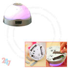 7 Colour Changing Digital LCD Alarm Clock Snooze LED Light Projector Time S247