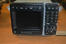 00-02 MERCEDES BENZ S430 S500 S600 RADIO CD PLAYER GPS NAVIGATION UNIT