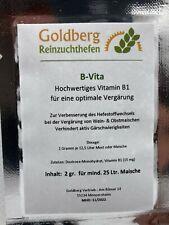 B-Vita Vitamin B1 für Obstmaischen 2 gr. Portion für 25 Ltr. Most oder Maische