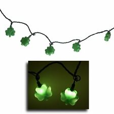 Plastic Shamrock Lights St Patrick's Day