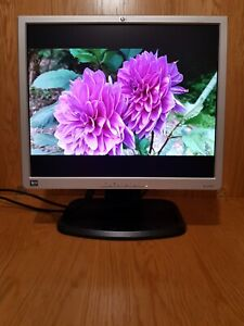 "HP 19"" inch DVI VGA USB Hub Monitor. HP L1940T. Display diagonal: 48.3 cm (19"")"