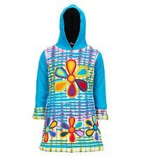 Kunst und Magie Kinder Hippie Kleid mit Fleecefutter Cutwork bunt