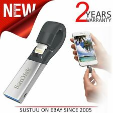 SanDisk 32GB iXpand USB 3.0 High Speed Flash Stick│Pen Memory Drive│iPhone/ iPad