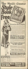 1920's Vintage ad for Chicago Mail Order Co. Catalog Retro Fashions   (070917)