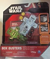 Star Wars Box Busters Battle of Naboo and Battle of Hoth. SEALED
