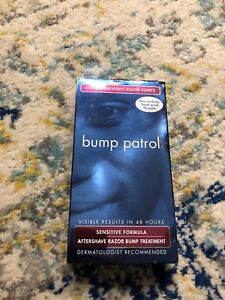 Bump Patrol Sensitive Formula Aftershave Razor Men's Burn Heals Treatment 2oz