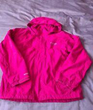 Girls Pink Regatta Waterproof Coat age 9-10 Years