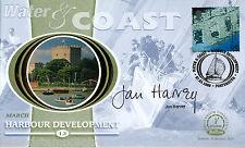 2000 Acqua & COSTA-Benham piccolo SETA-firmata dall' onorevole Jan Harvey