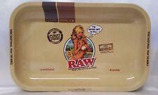 RAW 7X11 Organic Hemp Classic Rolling Papers GIRL Metal Tray The Natural Way