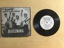 "Vinyl 7"" RARE EP - Beatlemania - The Rajahs' Tribute to the Beatles."