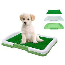 Pet Toilet Mat Puppy Potty Pad Training Seat Tray Dog Toys Play Fake Grass