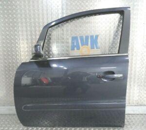 Tür vorn links metroblau Z168 Kompletttür Opel Zafira B  2006