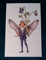CICELY MARY BARKER FLOWER FAIRIES POSTCARD, THE DOG-VIOLET FAIRY, OF THE SPRING