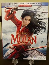Mulan (2020) (Blu-Ray, DVD, Digital) Brand New, Factory Sealed