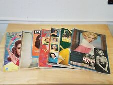 Huge Vintage Magazine Clipping Hollywood Star Starlet Scrapbook Collection 1950s