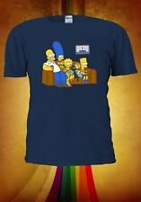 The Simpsons Movie All characters Family Men Women Unisex T-shirt Vest Top V339