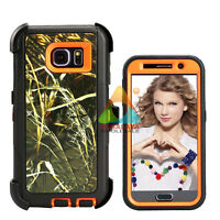 For Samsung Galaxy S6 Case (Clip fits Otterbox Defender) S 6 Holster