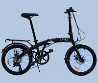 "BAYES Faltrad 20"" Aluminium Scheibenbremsen 8 Gang Shimano Klapprad folding bike"