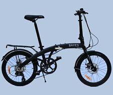 "Bayes hizo 20"" aluminio frenos de discos 8 marchas Shimano klapprad Folding Bike"