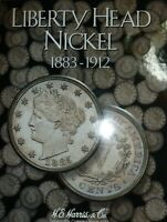 Liberty Head V Nickel Starter Collection   #9LHN in  New Harris Coin Folder