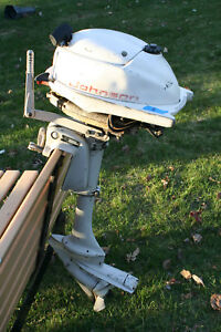 Vintage Johnson Outboard 3HP model JW18R